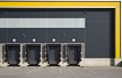Loading docks Royalty Free Stock Photos