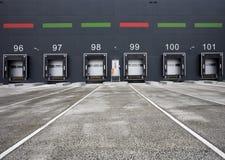 Loading docks Stock Images