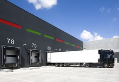 Loading docks Stock Images