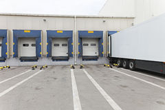 Loading docks Royalty Free Stock Photography