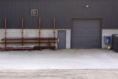 Loading Door Industrial Building Royalty Free Stock Photo