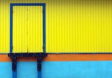 Loading door. Stock Image