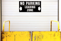 Loading door Royalty Free Stock Photo