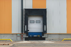 Loading door royalty free stock images