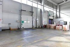 Loading door warehouse royalty free stock photo