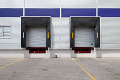 Loading doors Stock Photography