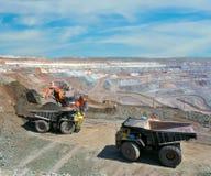 Loading of iron ore Royalty Free Stock Image