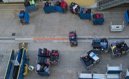 Loading luggage Stock Image