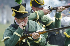 Loading Musket Stock Image