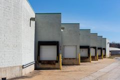 Loading Ramps royalty free stock image