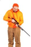 Loading a Riffle Stock Photo