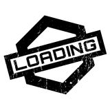 Loading rubber stamp Stock Images