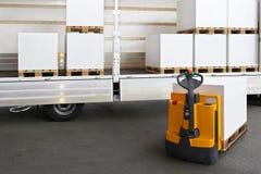 Loading truck Royalty Free Stock Photo
