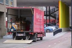 Loading truck Royalty Free Stock Photos
