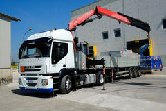 Loading truck Stock Images