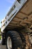 Loading vehicle under blue sky Royalty Free Stock Image