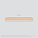 Loading web design orange Stock Photos