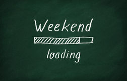 Loading weekend Stock Photography