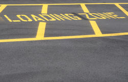 Loading Zone Royalty Free Stock Photo