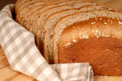 A loaf of 7-Grain bread Royalty Free Stock Image