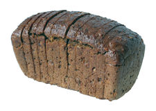 Loaf of black bread. Royalty Free Stock Images