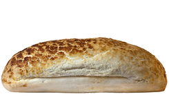 Loaf of Bread. Isolated over a white background stock photo