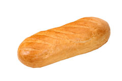Loaf of bread. Isolated on white background Stock Images