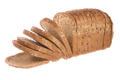 Loaf of bread. Isolated against a white background Royalty Free Stock Photo