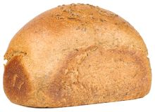 Loaf of Bread with Caraway Seeds Stock Photos