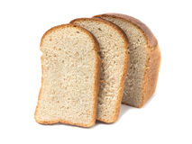 Loaf of bread a close-up Royalty Free Stock Photos