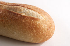 Loaf of Bread. Closeup of a loaf of French bread from bakery Stock Photography