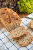 Loaf of bread. On cutting board Royalty Free Stock Image