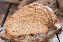 Loaf of Bread. Fresh baked Loaf of Bread (as detailed close-up shot royalty free stock image