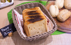 Loaf of bread fresh baked Stock Photography