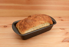 Loaf of bread fresh from the oven Stock Photo