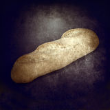 Loaf of bread grunge background Stock Photos