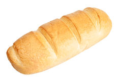Loaf of bread isolated Royalty Free Stock Images