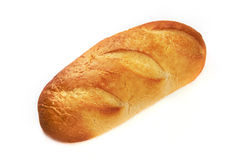 Loaf of bread isolated Royalty Free Stock Photo