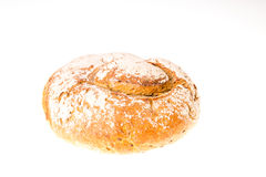 Loaf of bread isolated Stock Photography