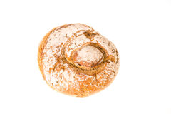 Loaf of bread isolated Royalty Free Stock Photos