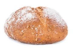 Loaf of Bread (isolated on white) Royalty Free Stock Photography