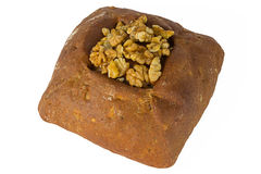 Loaf of bread with Nuts Royalty Free Stock Photos