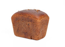 Loaf of bread of rye-bread. Is isolated on a white background Stock Photography