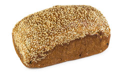 Loaf of bread with sesame Royalty Free Stock Image