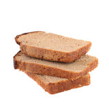 Loaf of bread slices Royalty Free Stock Image