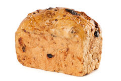 Loaf of bread. On a white background stock photos