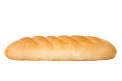Loaf of bread on white background Stock Photo