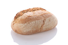 Loaf of bread on a white background Royalty Free Stock Photos