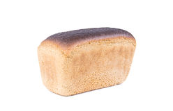 Loaf of brown rye bread Royalty Free Stock Photos