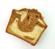 Loaf cake Stock Photo